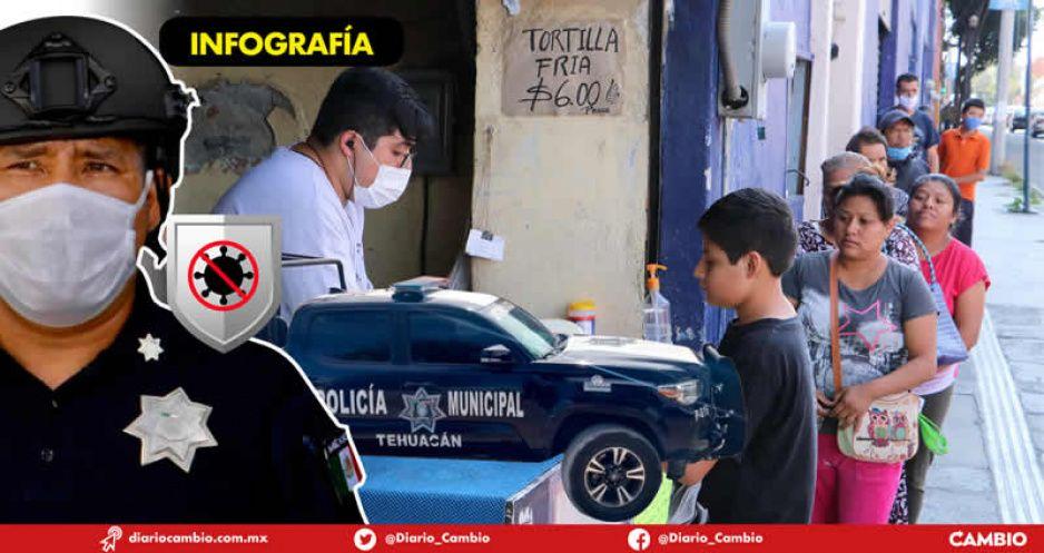 En Tehuacán funcionará la primera policía anticovid de todo México (VIDEO)
