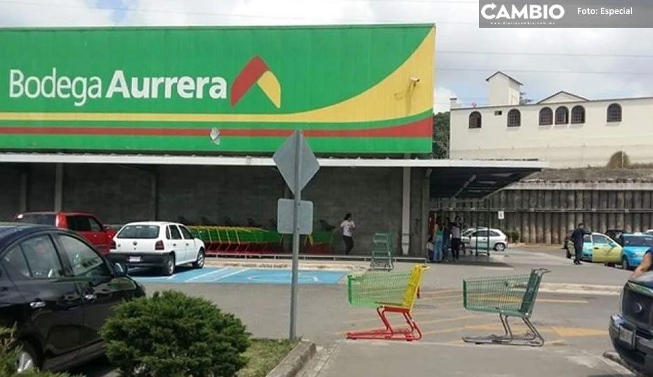 Maleantes saquean Aurrera de Huauchinango; se llevan pantallas, celulares y dinero