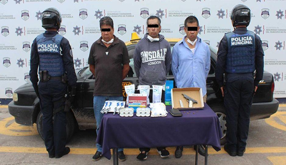 Detienen a ratas tras asaltar a repartidor de abarrotes en Fuentes de San Bartolo