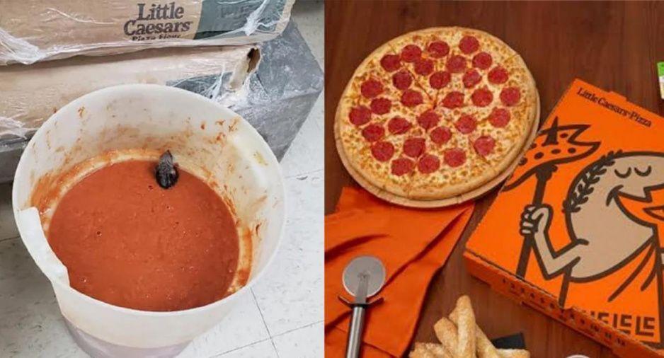 ¡Perro asco! Exgerente exhibe como preparan pizza de ratas en Little Caesars (FOTOS y VIDEO)