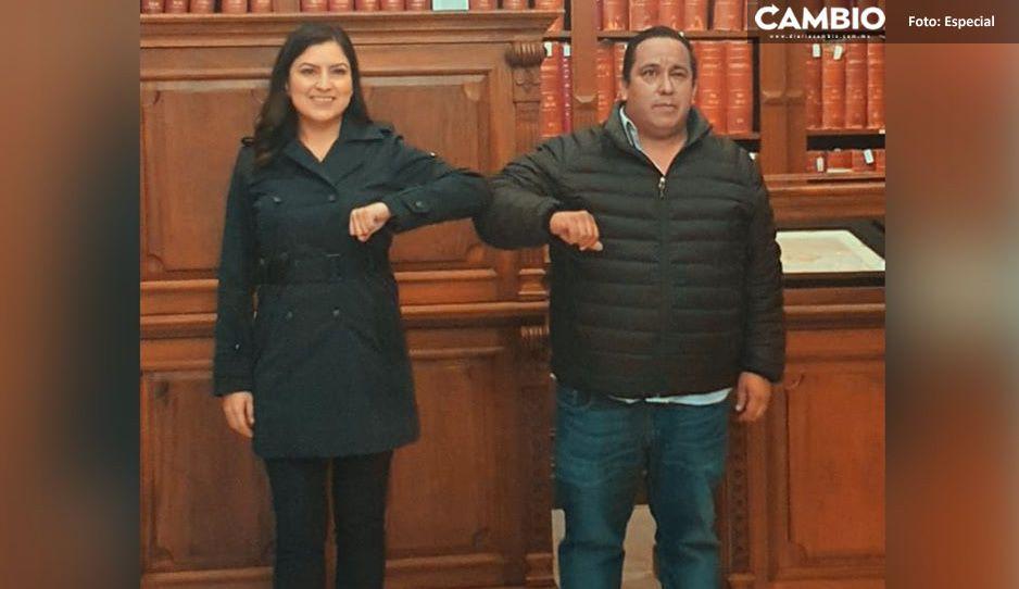 """Ante pleito con el barbosismo, Claudia busca protección y cobijo con el nuevo """"líder"""" de Morena"""