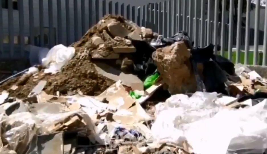 No es el basurero municipal, así de cochino luce el anexo del IMSS La Margarita (VIDEO)