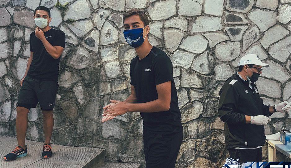 Club Puebla regresa a los entrenamientos en el Cuauhtémoc pese a que 3 integrantes están contagiados