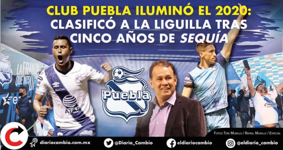 Club Puebla iluminó el 2020: clasificó a la Liguilla tras cinco años de sequía