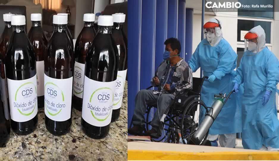 Más daño hace la Coca Cola que el dióxido de cloro