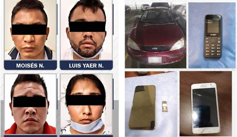 ¡Vivió para contarlo! Rescatan a joven secuestrado y detienen a 4 plagiarios en Tehuacán
