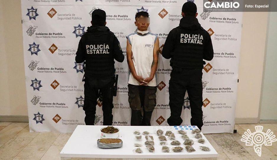Caen narcomenudistas de Los Sinaloa; distribuía droga en Flor del Bosque