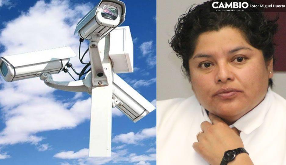 Karina Pérez justifica asignación directa de cámaras en San Andrés Cholula