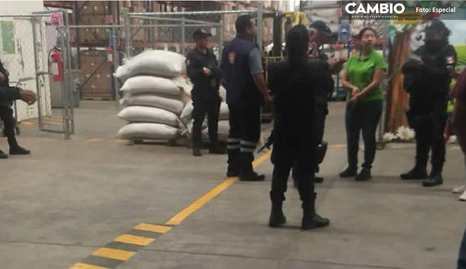 Realizan operativo en San Jerónimo Caleras para evitar ambulantes