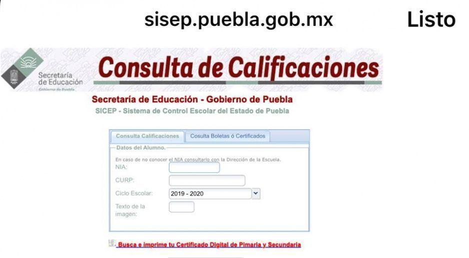 Mañana ya puedes consultar calificaciones en este portal