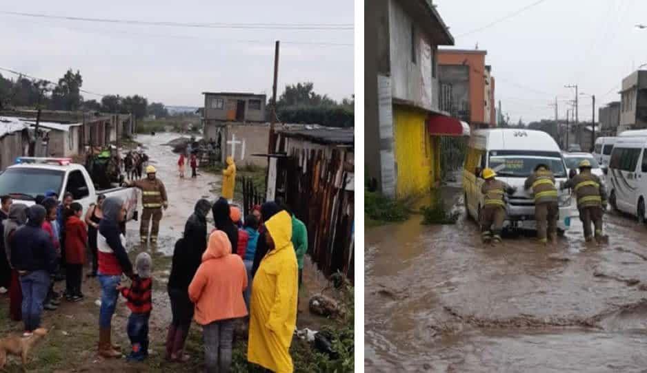 Ante inundaciones, Ayuntamiento de Texmelucan auxilia a afectados