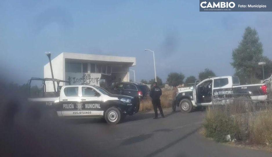 Pánico en Huejotzingo por balacera; comerciantes cierran negocios para resguardarse