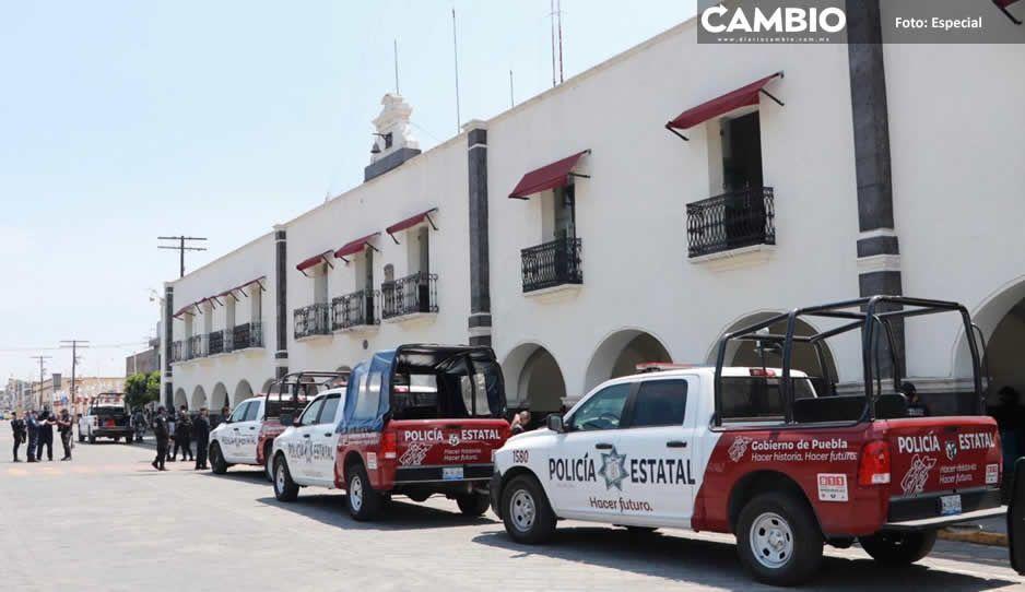 Decomisan celulares en el Cereso de Huejotzingo tras operativo de la Secretaría de Seguridad Pública