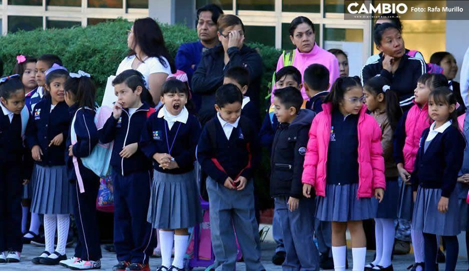 Regreso a clases en Puebla estará homologado con la Federación, será el 10  de agosto: Barbosa