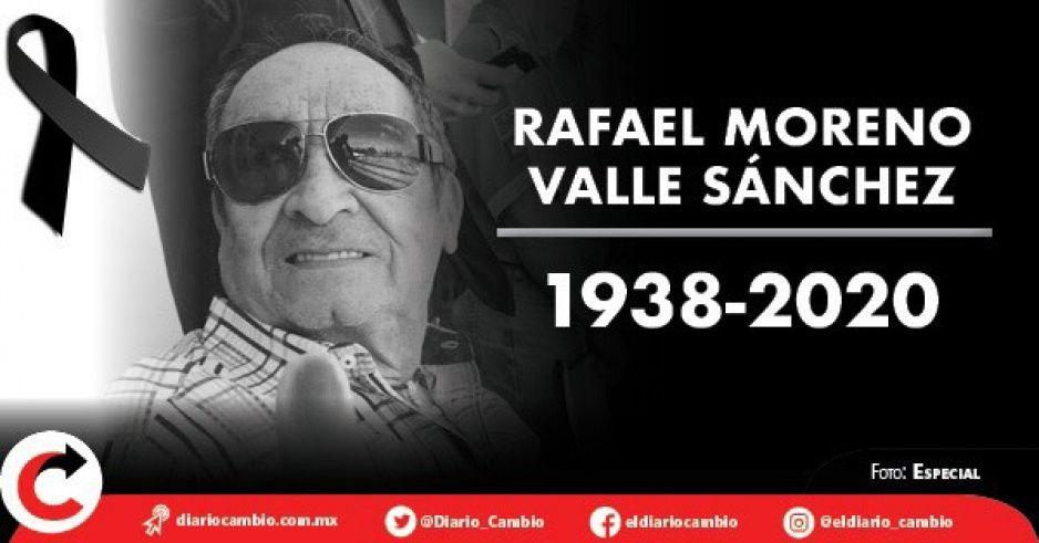 Fallece el contador Moreno Valle: luchó intubado casi un mes contra el coronavirus