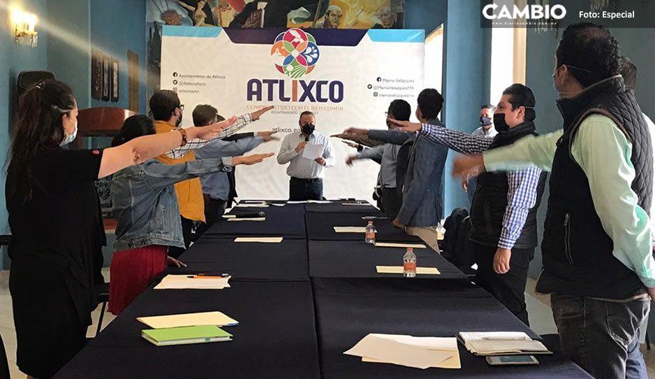 Toma protesta nuevo consejo municipal de desarrollo urbano sustentable en Atlixco
