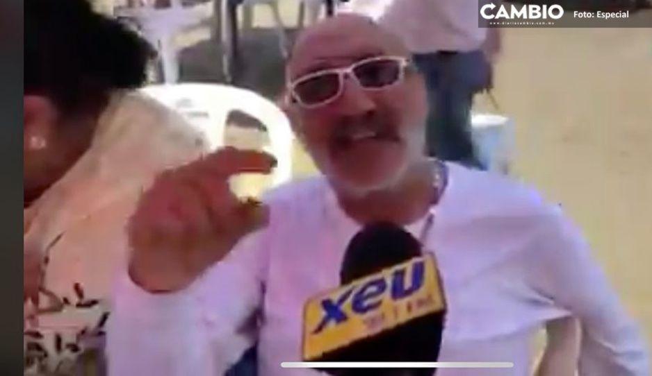 El coronavirus es pura mentira, la gente que se encierra es ignorante: vacacionista descerebrado en Veracruz (VIDEO)