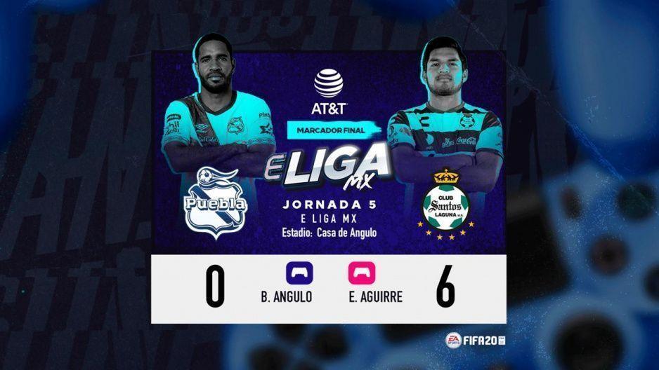 Hasta en el FIFA humillan al Puebla, pierde 6-0 contra el Santos