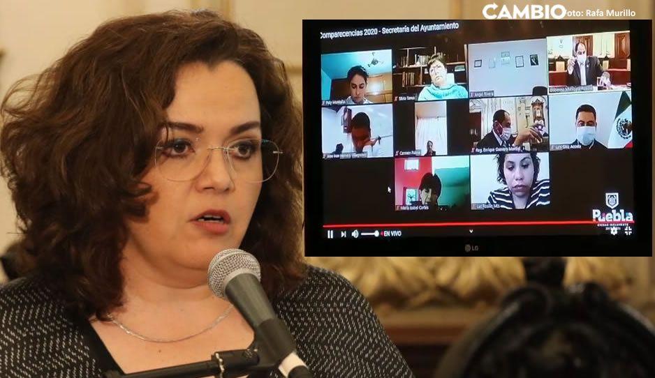 Liza Aceves se encara con regidor del G5, la acusó de falta de oficio político (VIDEO)