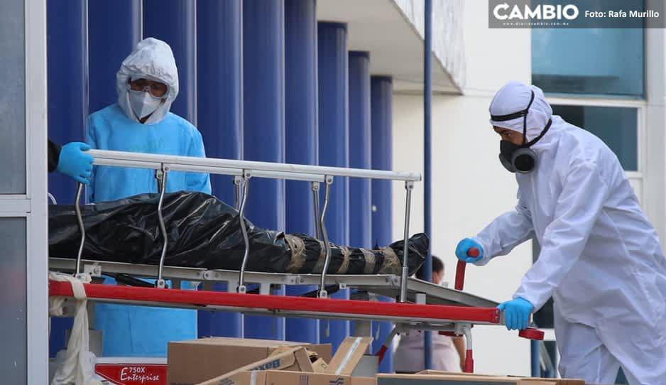 COVID no cede en Puebla: se contagian mil 58 y fallecen 96 en el fin de semana