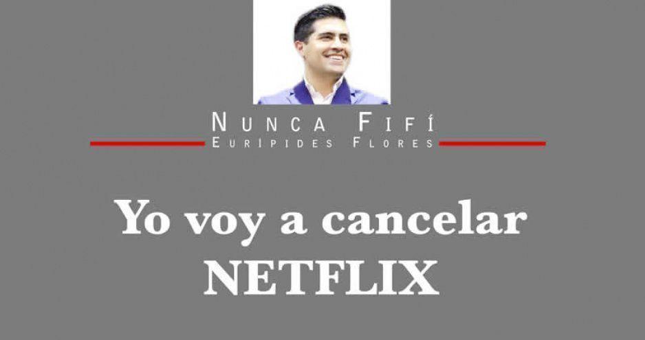 Yo voy a cancelar NETFLIX