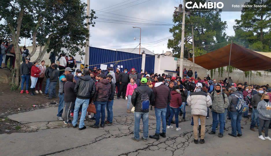 Obreros exhiben irregularidades  de textilera Maritex en El Verde