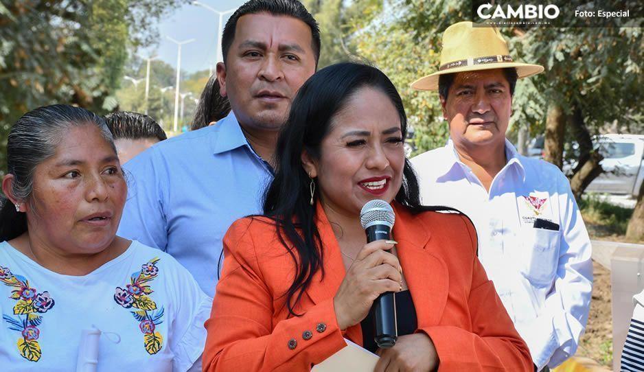 Lupita Daniel emprenderá grandes obras en Cuautlancingo para este 2020