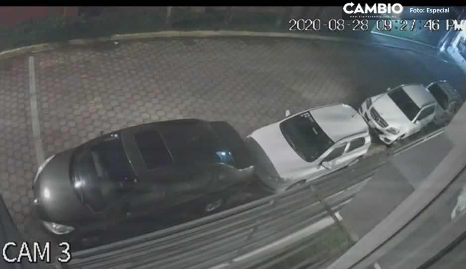 ¡Cuidado! Así operan los ratas de autopartes en San Andrés Cholula (VIDEO)