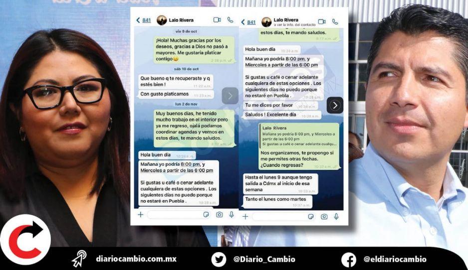 ¡Bomba atómica en el PAN! Genoveva filtra sus conversaciones por WhatsApp para exhibir a Lalo Rivera