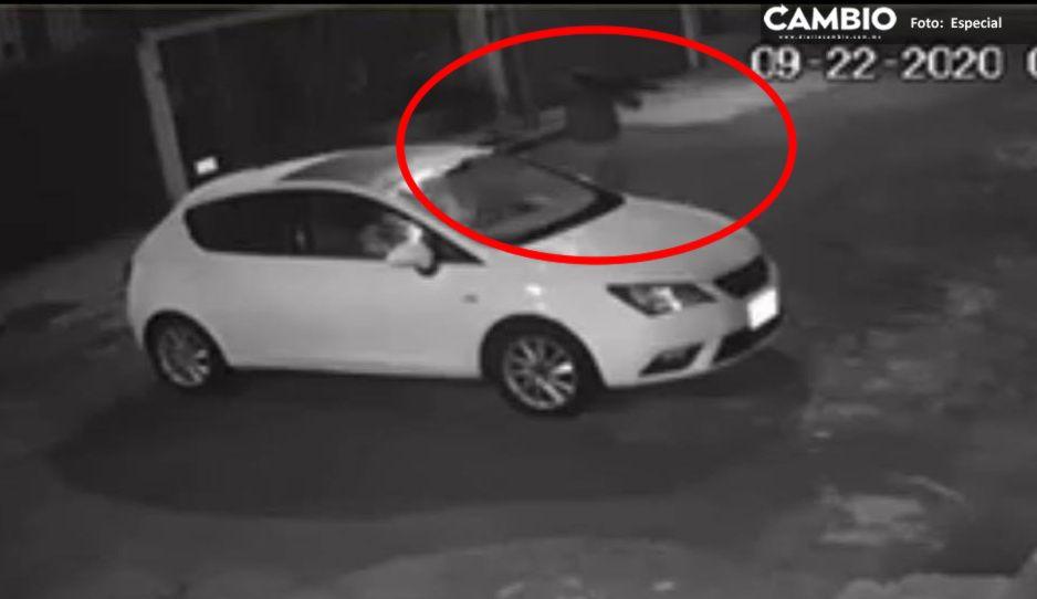 VIDEO: Apuntan a mujer con metralleta en el fraccionamiento Valle Dorado