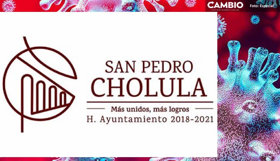Amplía gobierno de San Pedro Cholula medidas preventivas ante COVID-19