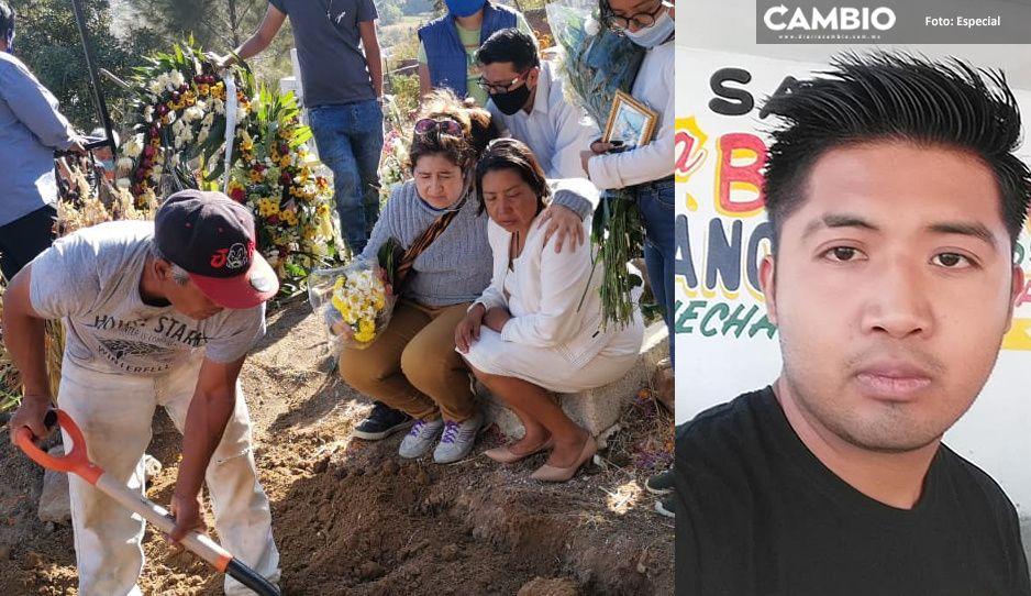 Entre lágrimas despiden a Juan Carlos Medel, víctima del briago del Mercedes (VIDEO)