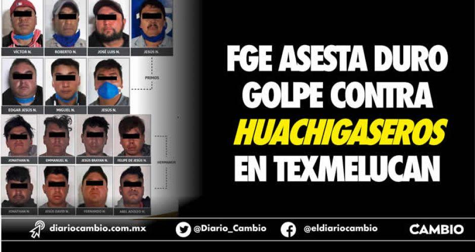 FGE asesta duro golpe contra  huachigaseros en Texmelucan