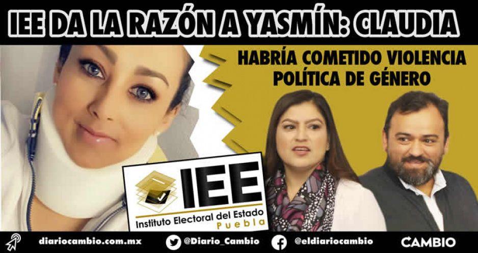 IEE: Claudia Rivera sí habría cometido violencia política de género vs Yasmín