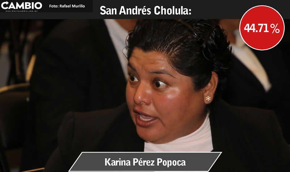 Karina Pérez hace mutis tras reprobar  municipio en transparencia por IMCO