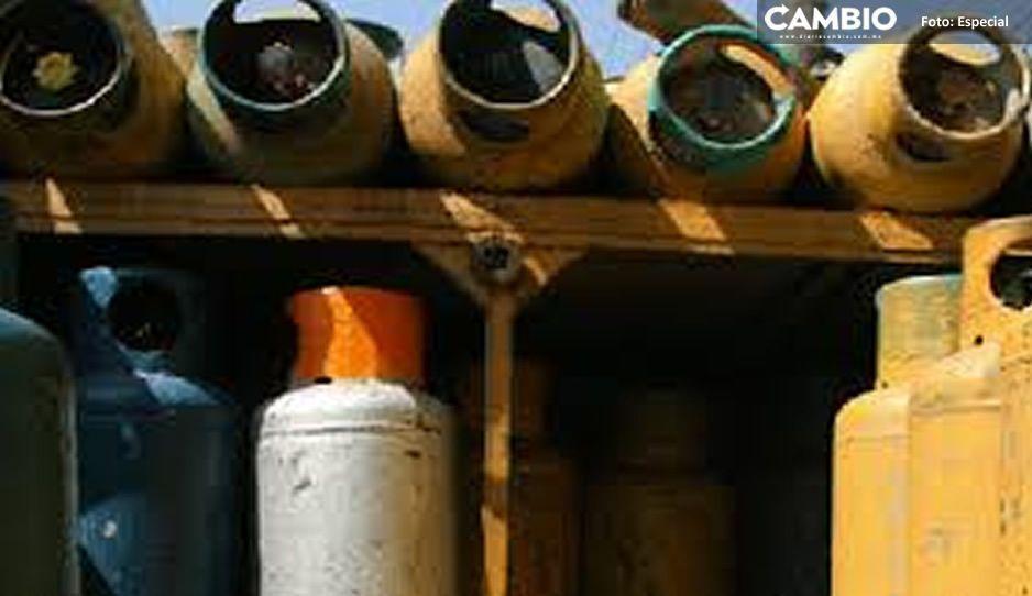Encuentran camioneta robada con cilindros llenos de gas robado en San Martín