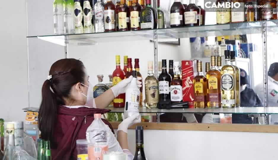 Decomisan 57 botellas de alcohol adulterado en San Salvador El Seco (FOTOS)