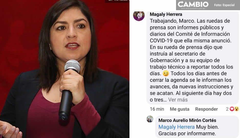 Claudia lleva 9 días sin aparecer en público, pero Magaly dice que está trabajando