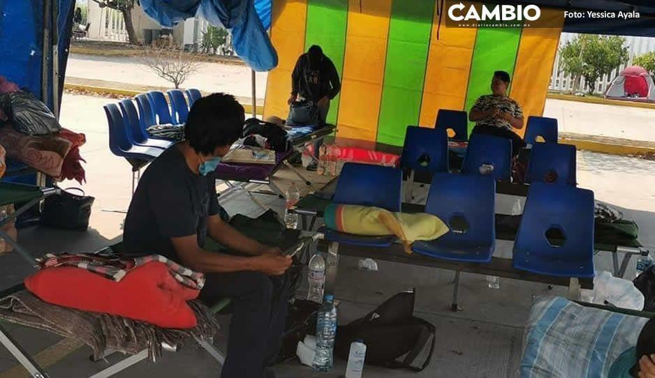 Aumentan casos de enfermos por COVID  al interior del Hospital General de Izúcar