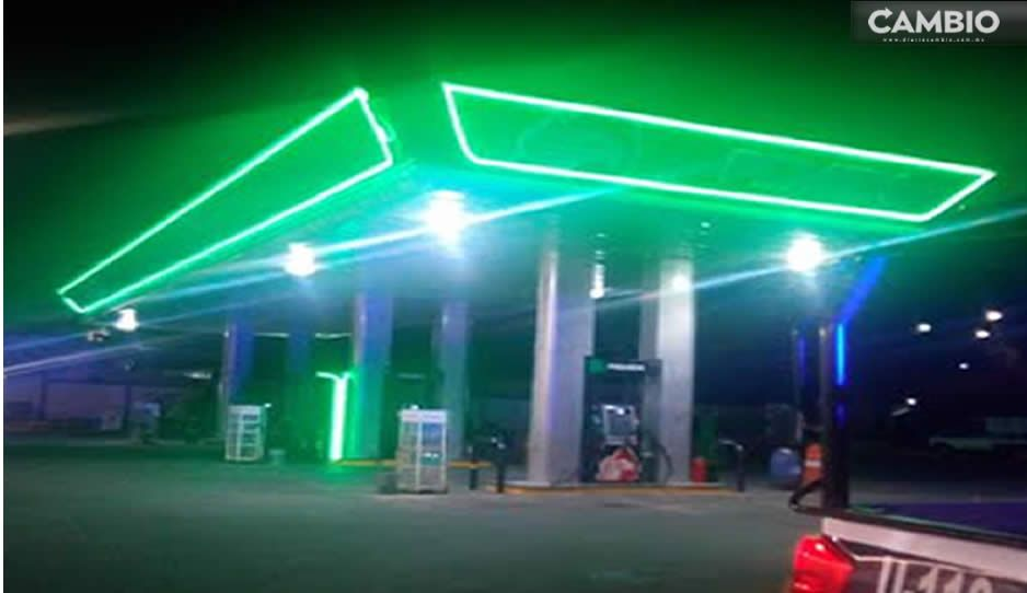 Navajean a despachador durante asalto a gasolinera en Xiutetelco