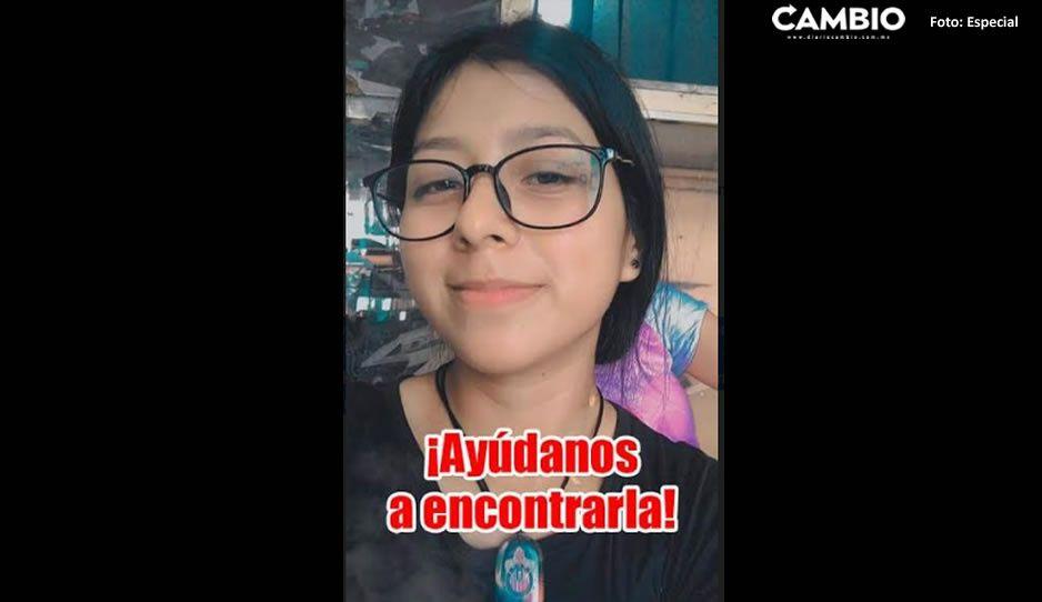 Desaparece jovencita de tan solo 16 añitos en Izúcar y piden apoyo para encontrarla
