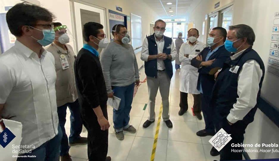 Casi lista el área Covid en el HNP; se atenderán a 14 niños infectados