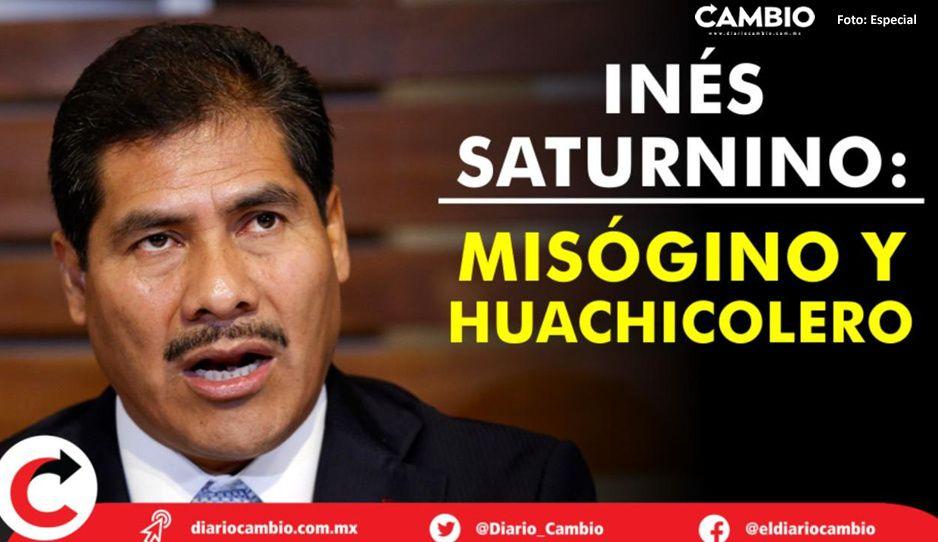 Radiografía de un misógino: Inés Saturnino López en 6 momentos