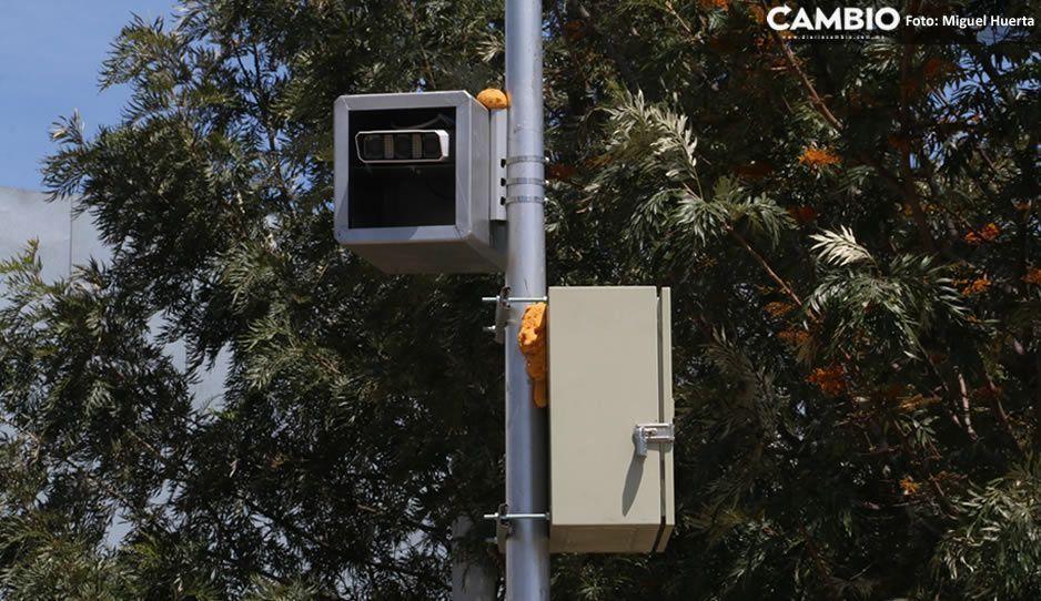 ¡Cuidado conductores! Ya instalaron fotomultas en la Mixteca poblana