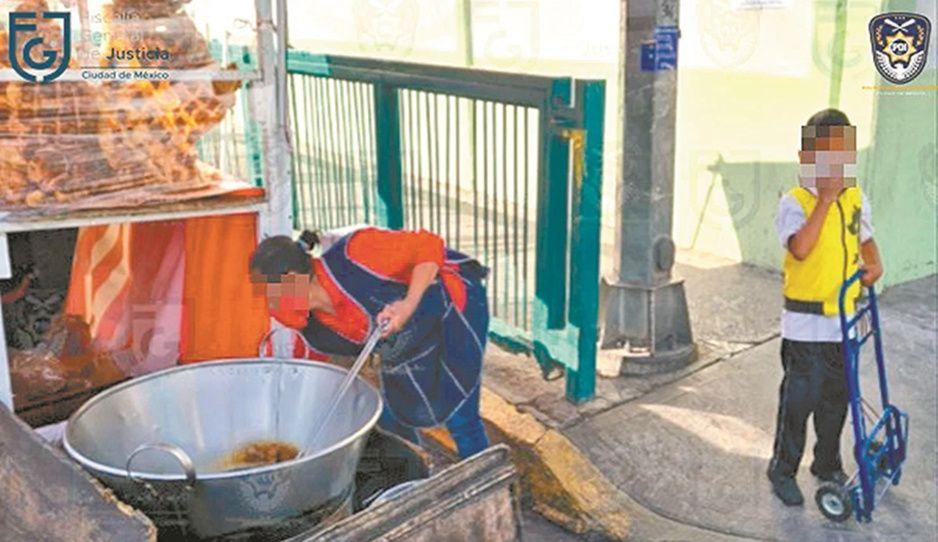 Sicarios obligan a vender tacos de carnitas a familia humilde