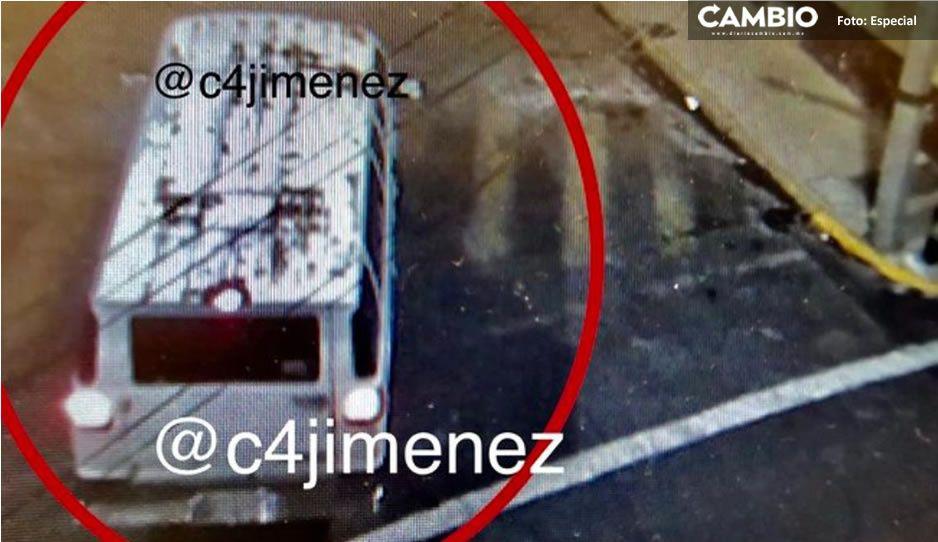 Captan camioneta abandonando bolsas con medicamentos para el cáncer en Azcapotzalco