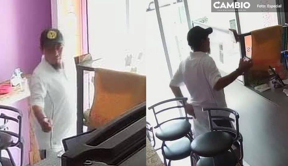 Denuncian a rata fifí que roba en Walmart de San Manuel y escapa en camioneta de lujo (VIDEO)