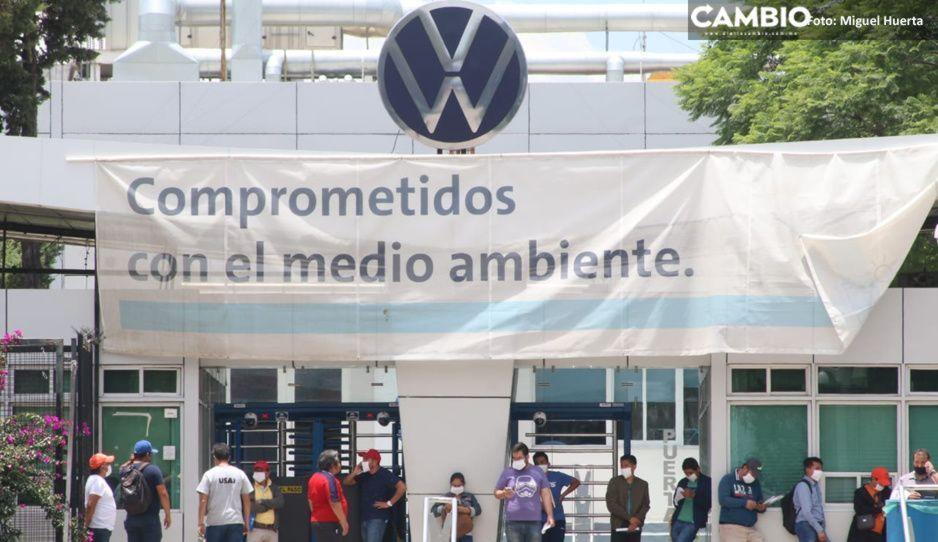 Pese a muertes por covid en la Volkswagen, continúan con el reclutamiento de 600 trabajadores