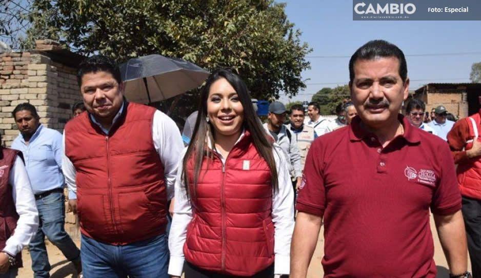 Luis Alberto Arriaga y diputados entregan cuartos  y calentadores solares a 500 familias en San Pedro