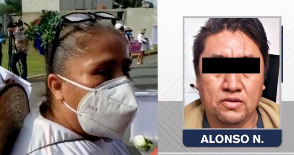 Que pague todo lo que les hizo a mis niñas: madre de Gardenia ante detención de Alonso N (VIDEO)